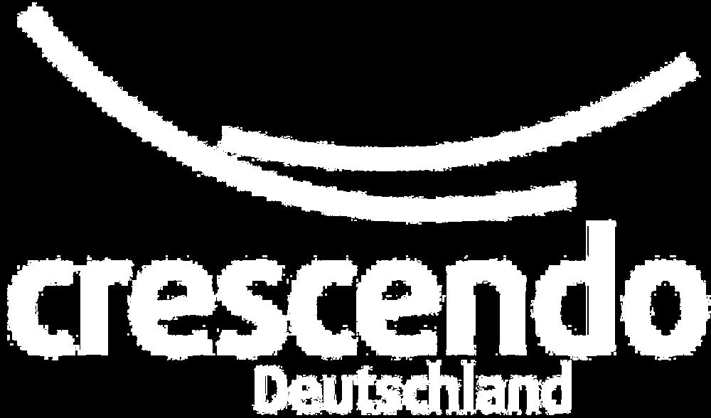 CRESCENDO Logo Weiß